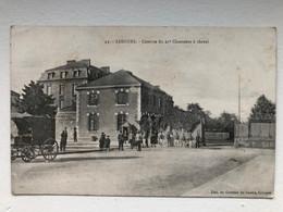 Ak Cp Limoges Caserne Du 21e Chasseurs A Cheval - Kazerne