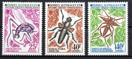 Col24 Taaf Terres Australes N° 40 à 42 Neuf XX MNH  Cote 38,00 Euro - Ongebruikt