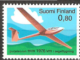 Finland 1976 5th World Championships In The Gliding Planes Mi 779 MNH(**) - Ungebraucht