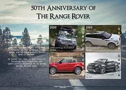 2021/06- GAMBIA - RANGE ROVER                  4V      MNH** - Automobili