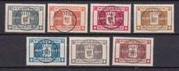 Wuerttemberg - 1916 - Dienstmarken - Michel Nr. 123/129 - Gestempelt - Wuerttemberg