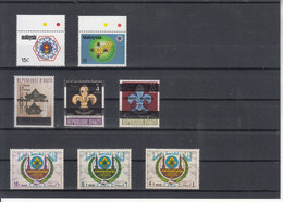 Different Countries - Unused Stamps