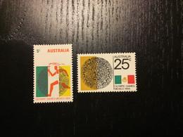 Australia Y&T 376/7 ** / MNH - Mint Stamps
