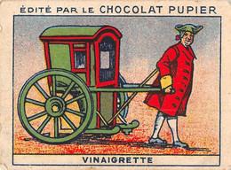 PIE-T-PL-21-3688 : IMAGE  OFFERTE PAR LE CHOCOLAT PUPIER. VINAIGRETTE. CHAISE A PORTEURS - Sin Clasificación