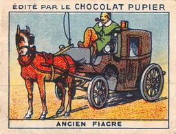 PIE-T-PL-21-3689 : IMAGE  OFFERTE PAR LE CHOCOLAT PUPIER. ANCIEN FIACRE - Sin Clasificación