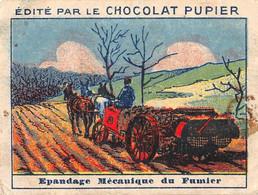 PIE-T-PL-21-3691 : IMAGE  OFFERTE PAR LE CHOCOLAT PUPIER. EPANDAGE MECANIQUE DU FUMIER. AGRICULTURE - Sin Clasificación