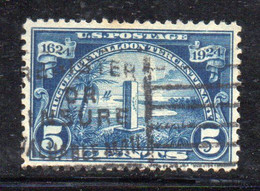 XP2744 - STATI UNITI 1924 , Lexington 5 Cent Unificato N. 429 Usato (LUK) - Used Stamps