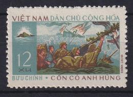 Vietnam Nord  1966 Stahl-Insel Con Co Mi.-Nr. 444 Ungestempelt (*) - Viêt-Nam