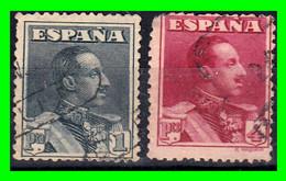 ESPAÑA.- (REINADO DE ALFONSO XIII) -&- SELLOS AÑO 1922-1930  ALFONSO XIII TIPO VAQUER - Used Stamps