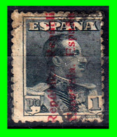 ESPAÑA.- (REINADO DE ALFONSO XIII) -&- SELLOS AÑO -1931 ALFONSO XIII TIPO VAQUER INFRAVALORADO 1 Pta - Used Stamps