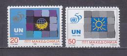 Macedonia 1995 UN (United Nations), 50th Anniversary MNH** - Macedonië