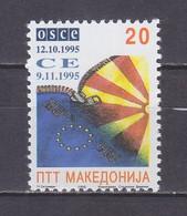 Macedonia 1995 Inclusion Of Macedonia In Europarat And OSCE MNH** - Macedonië