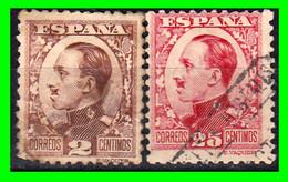 ESPAÑA.- (REINADO DE ALFONSO XIII) -&- SELLOS AÑO 1930-1931  ALFONSO XIII TIPO VAQUER DE PERFIL - Used Stamps