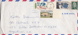 USA ENVELOPE. CIRCULATED 1976. VIA AIR MAIL. WESTCHESTER, NEW YORK TO VILLA BALLESTER, ARGENTINA.- LILHU - Briefe U. Dokumente