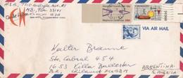 "USA COMMERCIAL ENVELOPE ""CARIBE HILTON"". CIRCULATED 1978. VIA AIR MAIL. MIAMI TO VILLA BALLESTER, ARGENTINA.- LILHU - Briefe U. Dokumente"