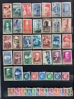 France 1938 Année Complète De 52 Timbres **TB Cote 750€ - ....-1939