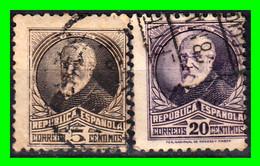 ESPAÑA.- ( II REPÚBLICA ESPAÑOLA ) -&- SELLOS AÑO 1931 PERSONAJES - 1931-50 Usati