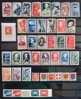 France 1949 Année Complète De 49 Timbres **TB Cote 176€ - 1940-1949