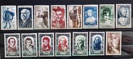 France 1950 Année Complète De 15 Timbres **TB Cote 110€ - 1950-1959