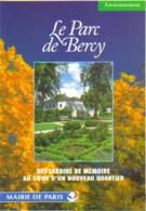 """Carte Postale """"Cart'Com"""" (1997) - Mairie De Paris (Environnement) Le Parc De Bercy (des Jardins De Mémoire...) - Publicidad"""