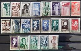 France 1952 Année Complète De 21 Timbres **TB Cote 114€ - 1950-1959