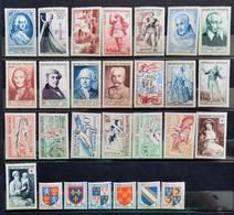 France 1953 Année Complète De 28 Timbres **TB Cote 192,50 € - 1950-1959