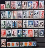 France 1954 Année Complete De 40 Timbres **TB Cote 315€ - 1950-1959