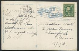 PUERTO RICO - USA N° 182 / CP OBL SAN JUAN LE 6/12/1922 POUR USA - TB - Puerto Rico