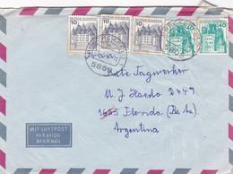 DEUTSCHLAND ENVELOPE. CIRCULATED 1978. PAR AVION. BRECKERFELD TO BUENOS AIRES, ARGENTINA.- LILHU - Brieven En Documenten