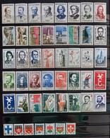 France 1958 Année Complète De 47 Timbres **TB Cote 64€ - 1950-1959
