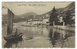 ITALIE - LOVERE - Lago D'Iseo - Un Saluto Da Lovere - 1913 - Bergamo