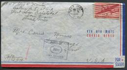 PUERTO RICO - USA PA N° 26 / LETTRE DE SAN JUAN LE 10/4/1942 POUR USA AVEC CENSURE - SUP - Puerto Rico