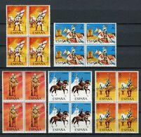 España 1973. Edifil 2139-43 X 4 ** MNH. - 1971-80 Nuovi