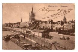 (Rhénanie Du Nord Westphalie) 204, Coln A. Rh., Heisa & Co, Rheinufer, Péniche Batellerie - Koeln