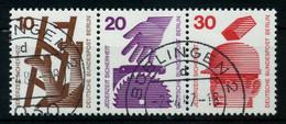 BERLIN ZUSAMMENDRUCK Nr W47 Gestempelt 3ER STR X7846DE - Zusammendrucke