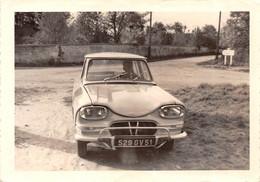 PHOTO 12,5 X 9 Cms AMI 8 Citroën-AUTOMOBILE-VOITURE-AUTO-Transport - Cars