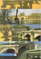 """Carte Postale """"Cart'Com"""" (1997) - Mairie De Paris - Les Ponts De Paris - Publicidad"""