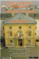 """Carte Postale """"Cart'Com"""" (1997) - Mairie De Paris - L'école Normale Supérieure Dans Son Quartier (ENS) - Publicidad"""