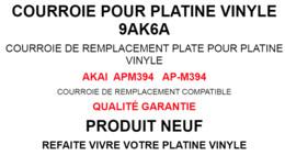 Courroie Neuve Platine Vinyle ( 169 X 5 X 0,7 ) - Non Classificati
