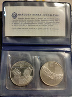 """Yugoslavia 10 Dinars, 1983 A Set Of """"Yugoslavia Battles Of The Second World War"""" In A Bank Package With A Certificate. - Yugoslavia"""