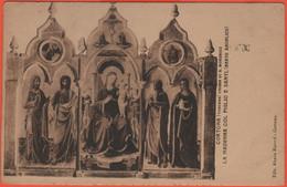ITALIA - ITALY - ITALIE - 1914 - 2 X 5c + Timbro Quartiere Postale - Cortona - Chiesa Di San Domenico - La Madonna Col F - Altre Città