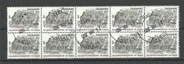 DENMARK 1974 Michel 565 As 10-block O - Gebraucht