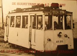 De Buurttram In Oost- En Zuid-Brabant - Door A. Ver Elst - 1981 - Oa Brussel Leuven Tienen Mechelen Stoomtram ... - Non Classificati