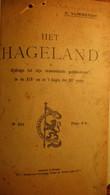 Het Hageland - Door E. Vliebergh  - Gebied Tussen Leuven, Diest, Aarschot En Tienen - Non Classificati
