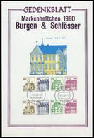 1980, Berlin, W 75+76, Briefst. - Zusammendrucke