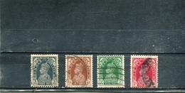 Inde 1937-41 Yt 143-146 George VI - 1936-47 King George VI