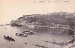 Seltene  ALTE  AK  MONTE-CARLO / Monaco  - Teilansicht Mit Hafen - 1910 Ca. Gedruckt - Harbor