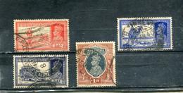 Inde 1937-41 Yt 147 150 153 155 George VI - 1936-47 King George VI