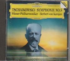 Cd TSCHAIKOWSKY  Symphonie N°5  Herbert Von Kariban WIENER  :  Etat: Très Très Bon : - Classica