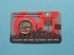 2018 > 50 Jaar MEI 1968 ( 2 EURO ) (NL/E) Koninklijke Munt Van België ( Zie Foto's > For Grade, Please See Photo ) ! - Belgien
